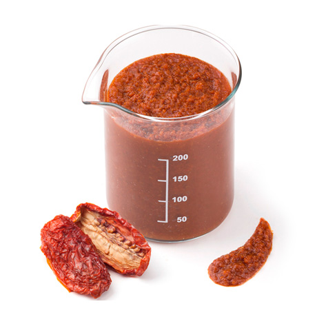 Tomate seco rehidratado
